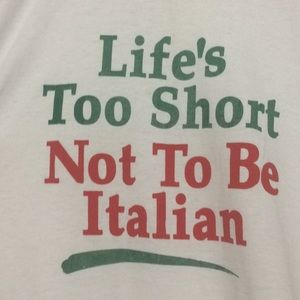 Fruit of the Loom Italian pride tee